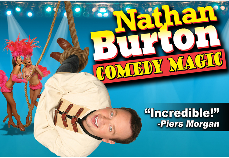 Nathan Burton Comedy Magic